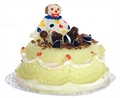 Torte mit Clown