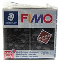 Fimo Leather schwarz