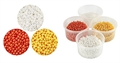 Pearl Clay Set gold, weiss, hrot