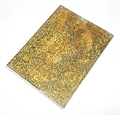 Crackle Mosaik 15x20cm braun-gold