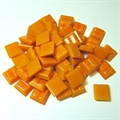 Glasmosaik 10x10mm 200gr Joy orange