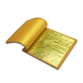 Citrongold 18kt 8x8cm 25Bl. Transfer