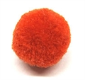 Pompon 18mm p.Stk s.Vorrat orange