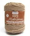 Makramee Rope 5mm 500g taupe