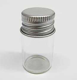 glasflasche mit schraubdeckel 22x40mm glas. Black Bedroom Furniture Sets. Home Design Ideas